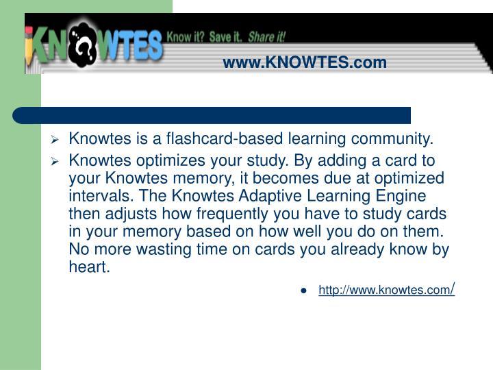 www.KNOWTES.com