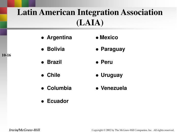 Latin American Integration Association (LAIA)