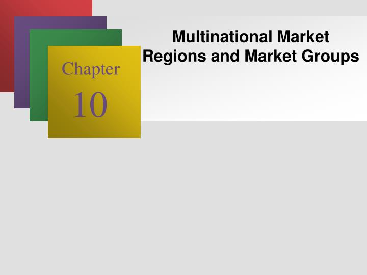 Multinational Market