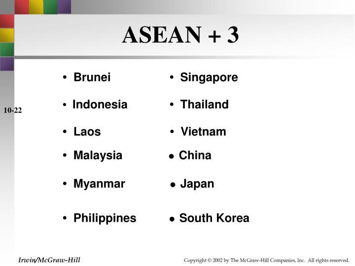 ASEAN + 3
