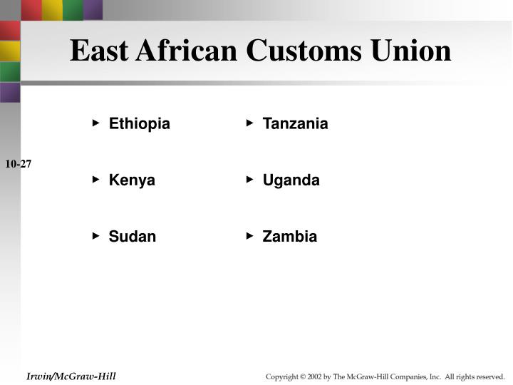 East African Customs Union