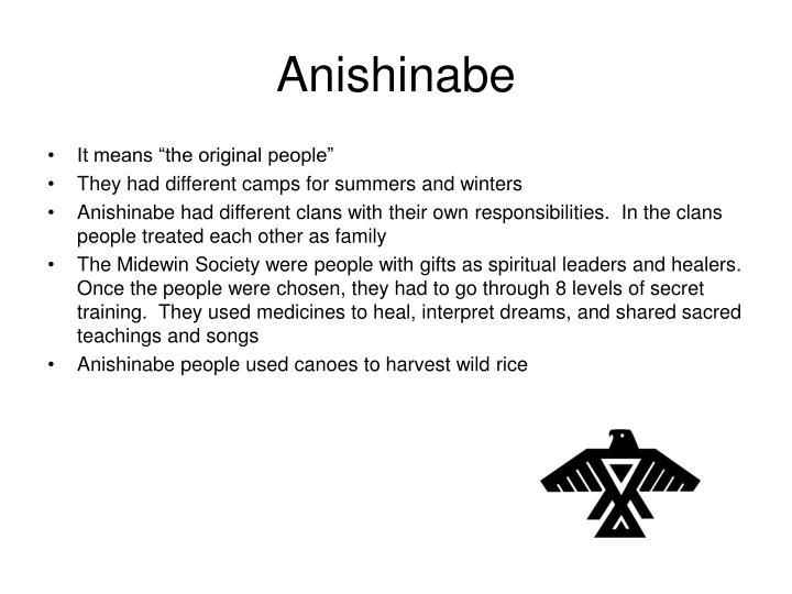 Anishinabe