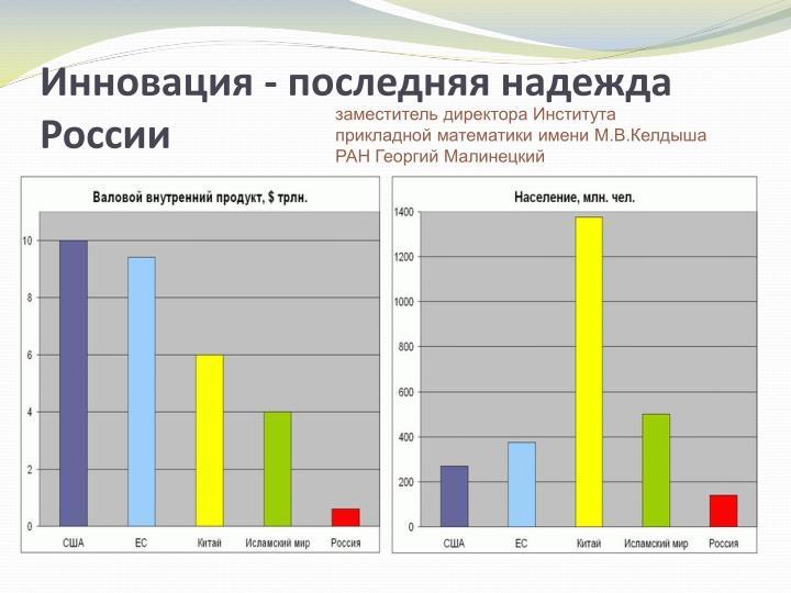 Инновация - последняя надежда России
