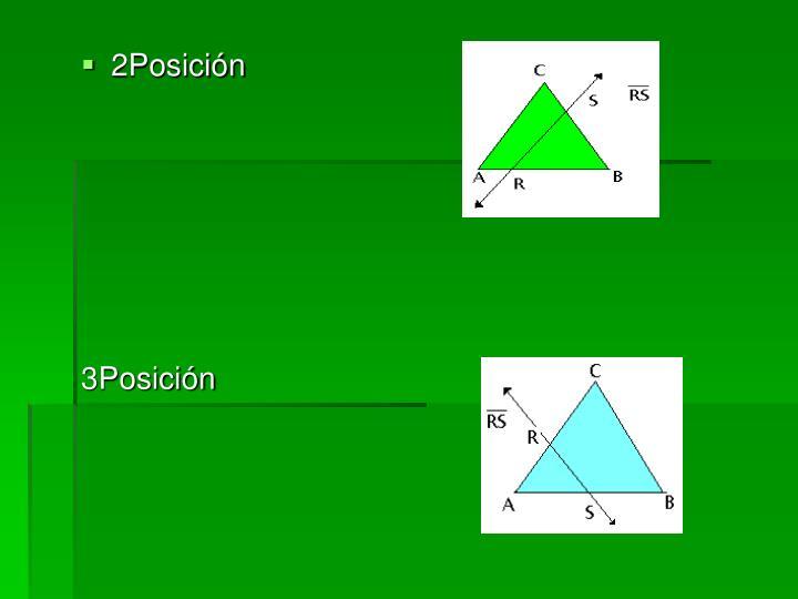 2Posición