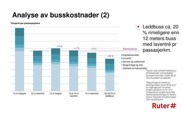 Analyse av busskostnader (2)