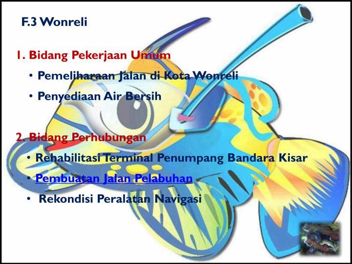 F.3 Wonreli