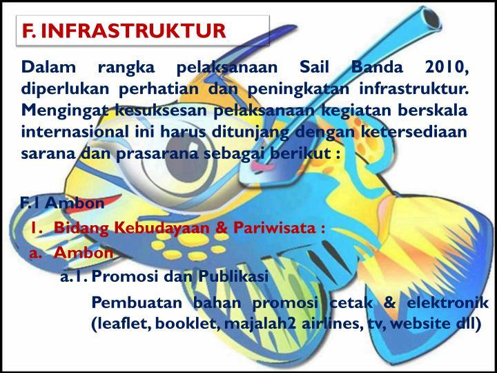 F. INFRASTRUKTUR