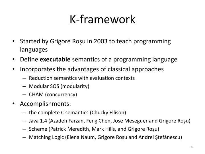 K-framework