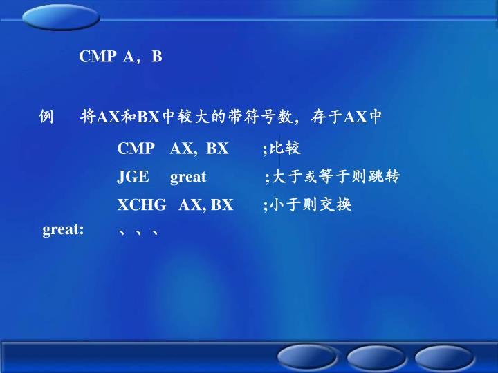 CMP  A