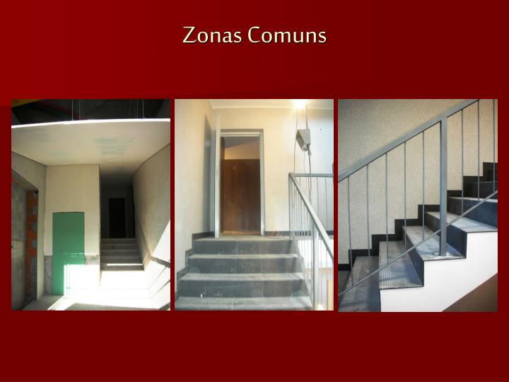 Zonas Comuns