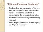 chinese mexicans celebrate