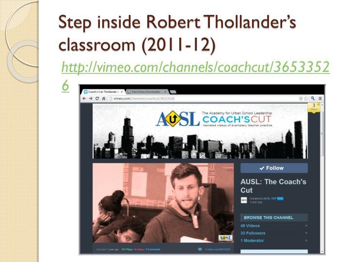 Step inside Robert