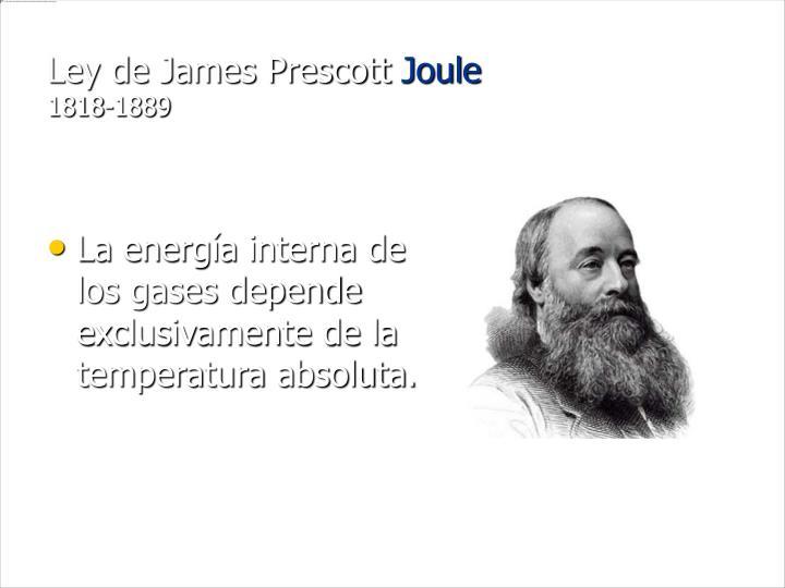 Ley de James Prescott