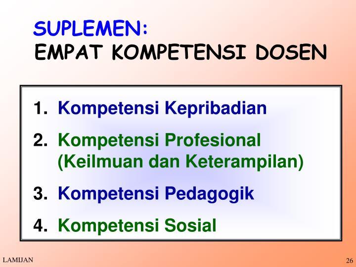 SUPLEMEN: