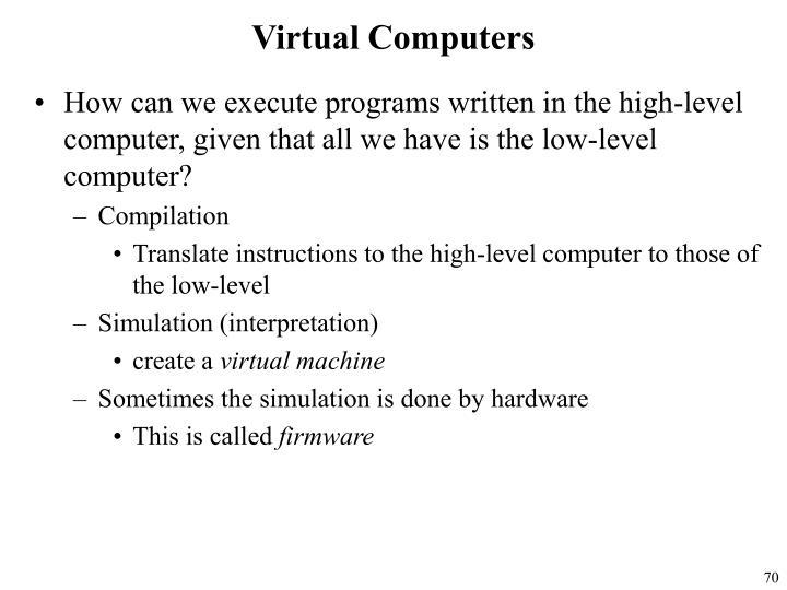 Virtual Computers