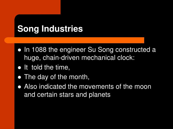 Song Industries