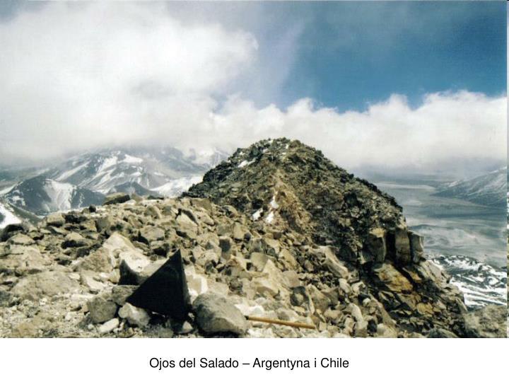 Ojos del Salado – Argentyna i Chile
