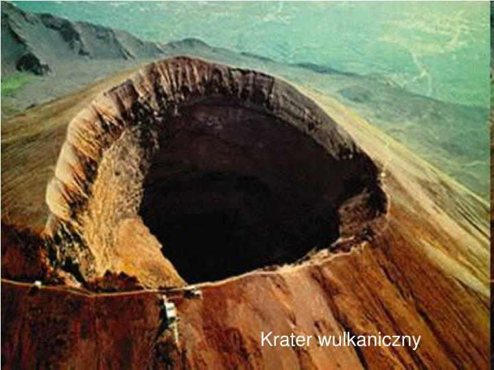 Krater wulkaniczny