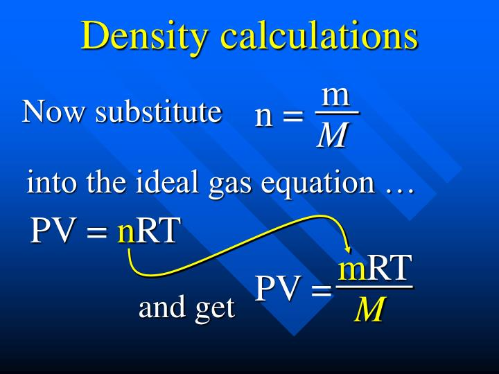 Density calculations