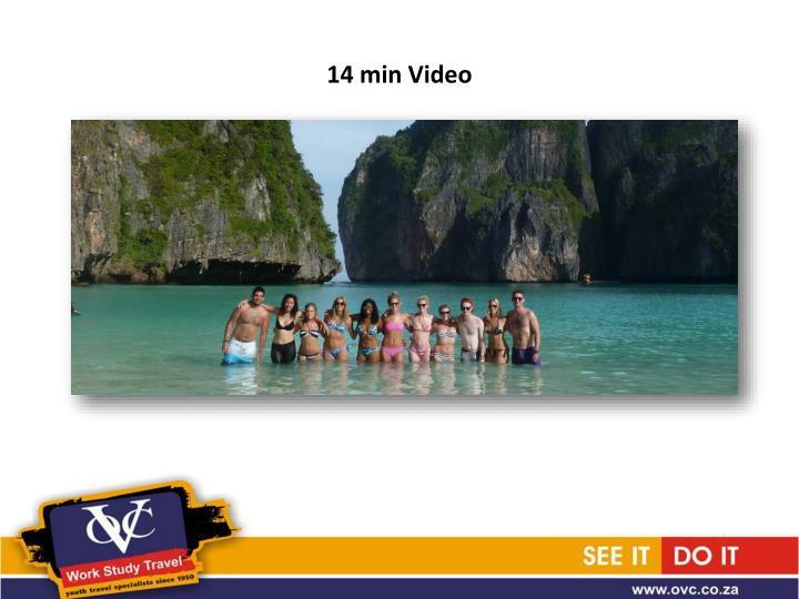 14 min Video