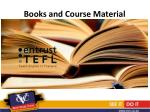 books and course material