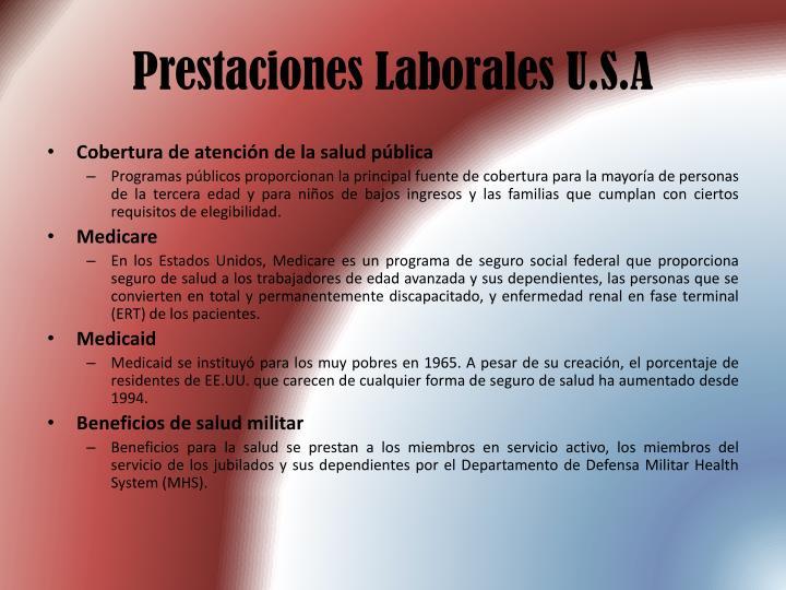 Prestaciones Laborales U.S.A