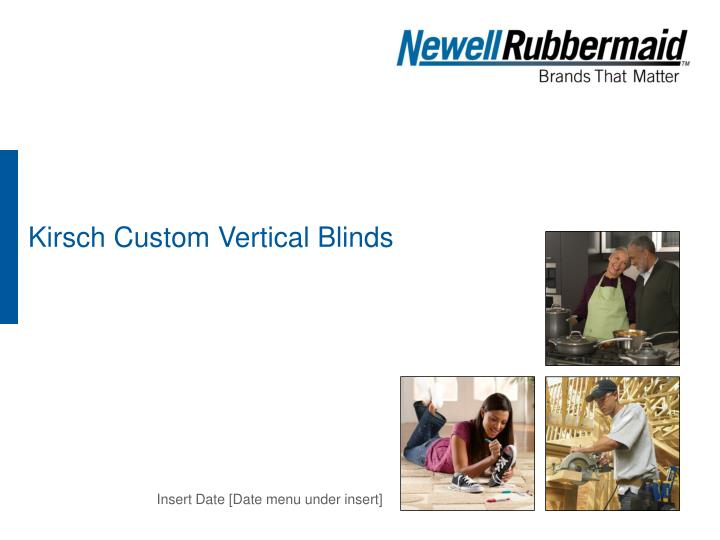 Kirsch custom vertical blinds
