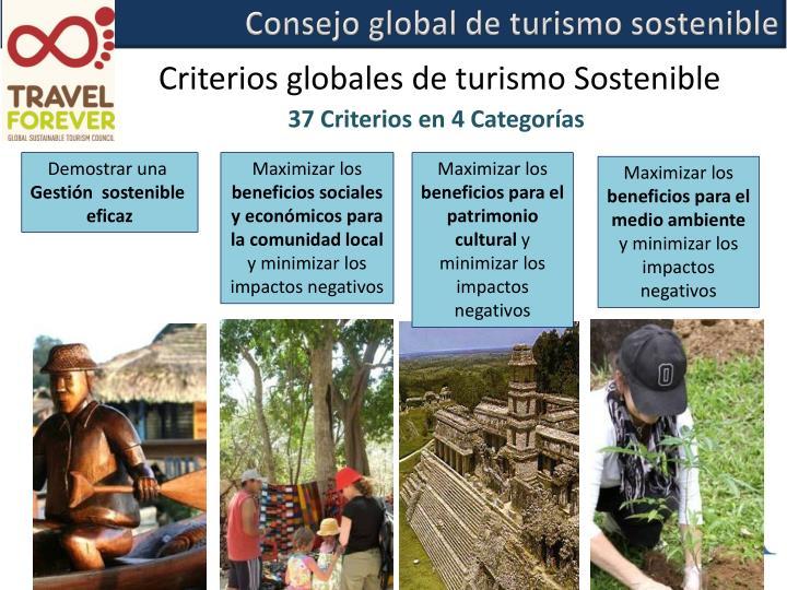 Consejo global de turismo sostenible