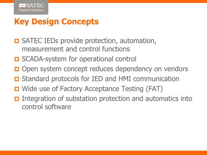 Key Design Concepts
