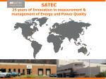 satec 25 years of innovation in measurement management of energy and power quality