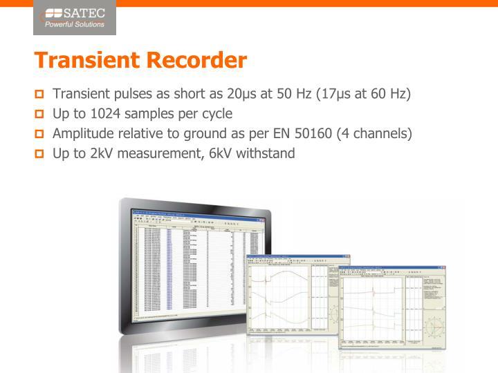 Transient Recorder