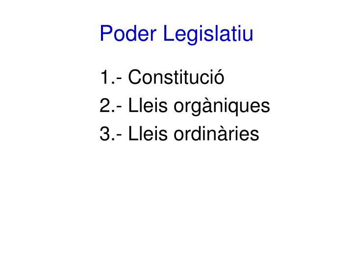 Poder Legislatiu