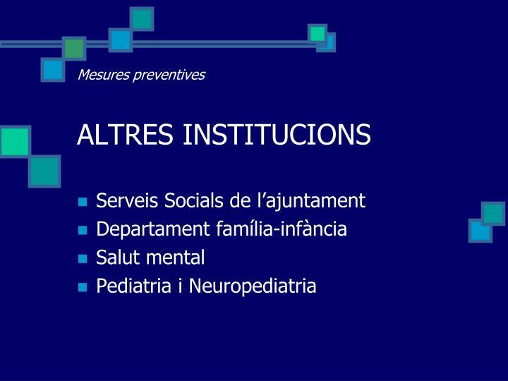 Mesures preventives