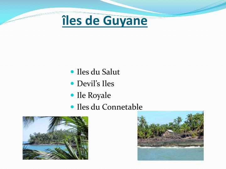 îles de Guyane