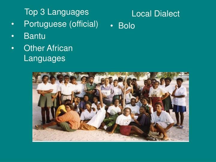 Top 3 Languages