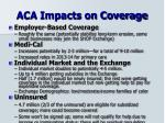 aca impacts on coverage