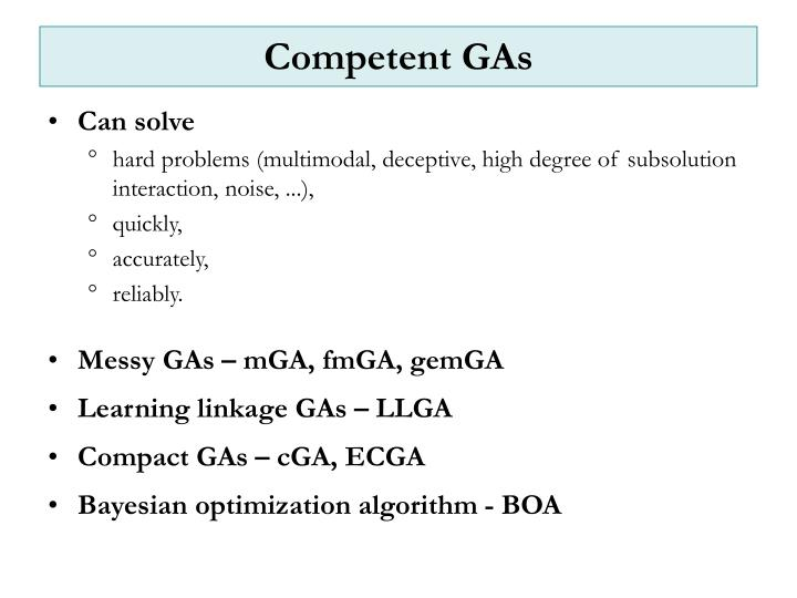 Competent gas
