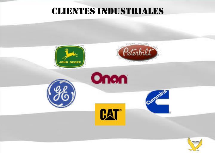 Clientes industriales