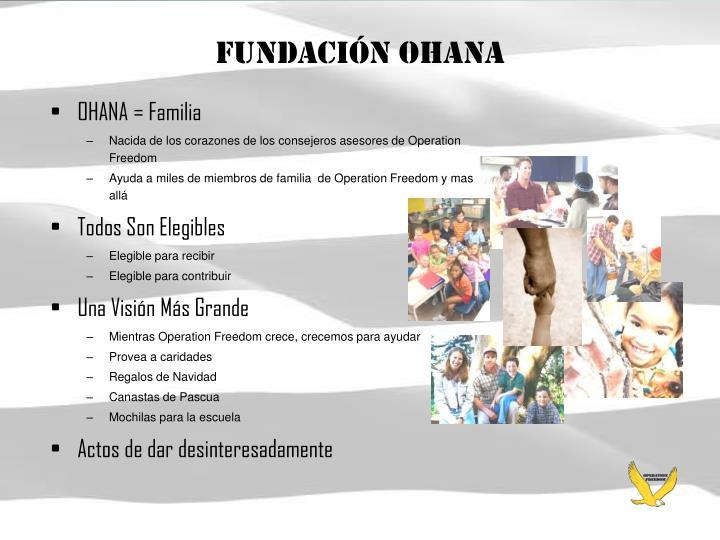 Fundación OHANA