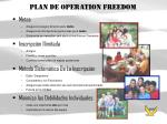plan de operation freedom