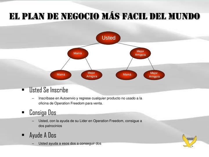 El Plan de Negocio Más Facil del Mundo