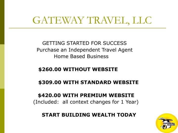 GATEWAY TRAVEL, LLC