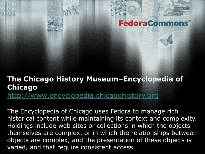 The Chicago History Museum–Encyclopedia of Chicago