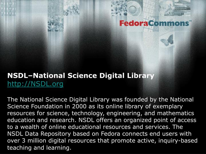 NSDL–National Science Digital Library