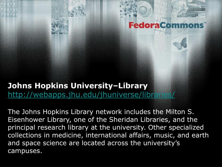 Johns Hopkins University–Library