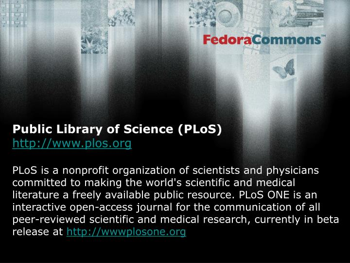 Public Library of Science (PLoS)