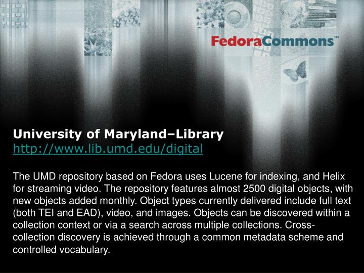 University of Maryland–Library