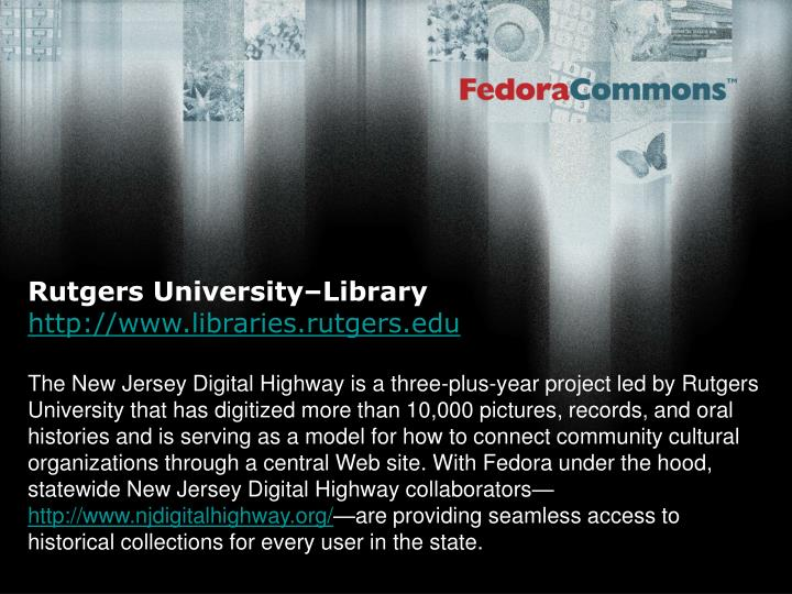 Rutgers University–Library