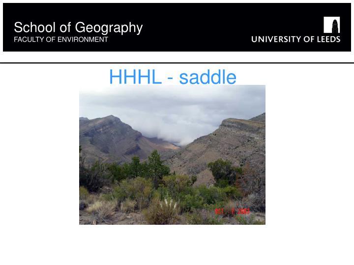 HHHL - saddle