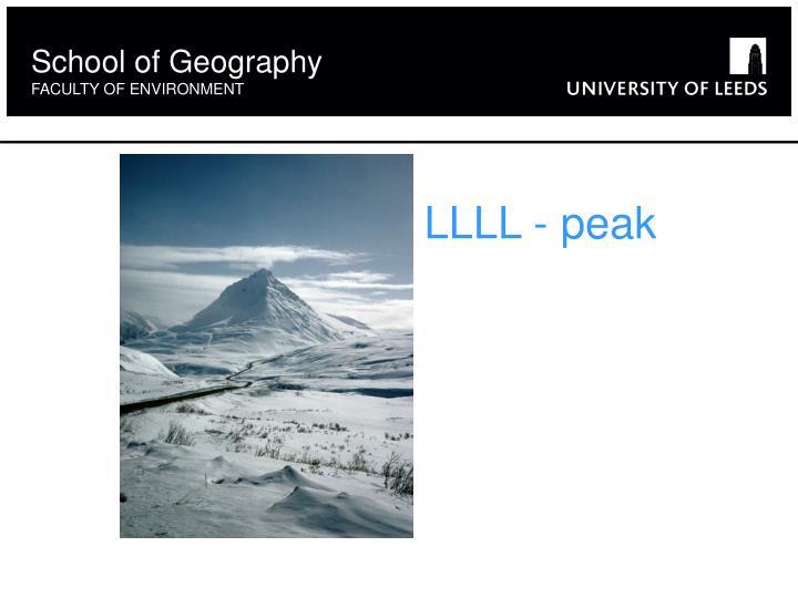 LLLL - peak